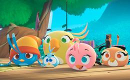 Imagen de Angry Birds Stella en Atresplayer
