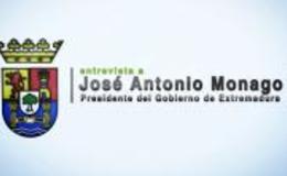 Imagen de Entrevista a José Antonio Monago en Canal Extremadura