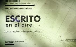 Imagen de Escrito en el aire en Canal Extremadura