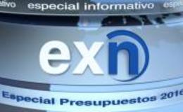 Imagen de Especial Presupuestos 2016 en Canal Extremadura
