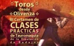Imagen de III Certamen de Clases Prácticas de Tauromaquia de la Diputación de Badajoz desde Olivenza en Canal Extremadura