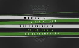 Imagen de Mensaje de Fin de Año del Presidente de la Junta en Canal Extremadura