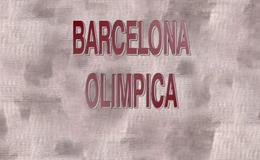 Imagen de Barcelona olímpica en RTVE