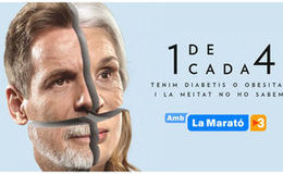 Imagen de La Marató de TV3 en TV3 (Cataluña)