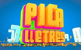 Imagen de Pica lletres en TV3 (Cataluña)