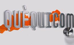 Imagen de Quèquicom en TV3 (Cataluña)