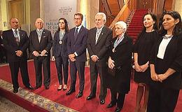 Imagen de Medallas Parlamento de Galicia en TVG (Galicia)