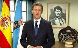 Imagen de Mensaxe Presidente da Xunta en TVG (Galicia)