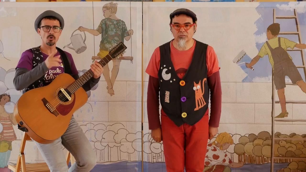 Dani Miquel: cançó dels colors