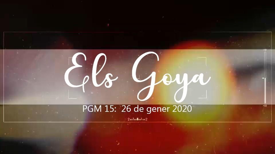 Programa 15 - Els Goya