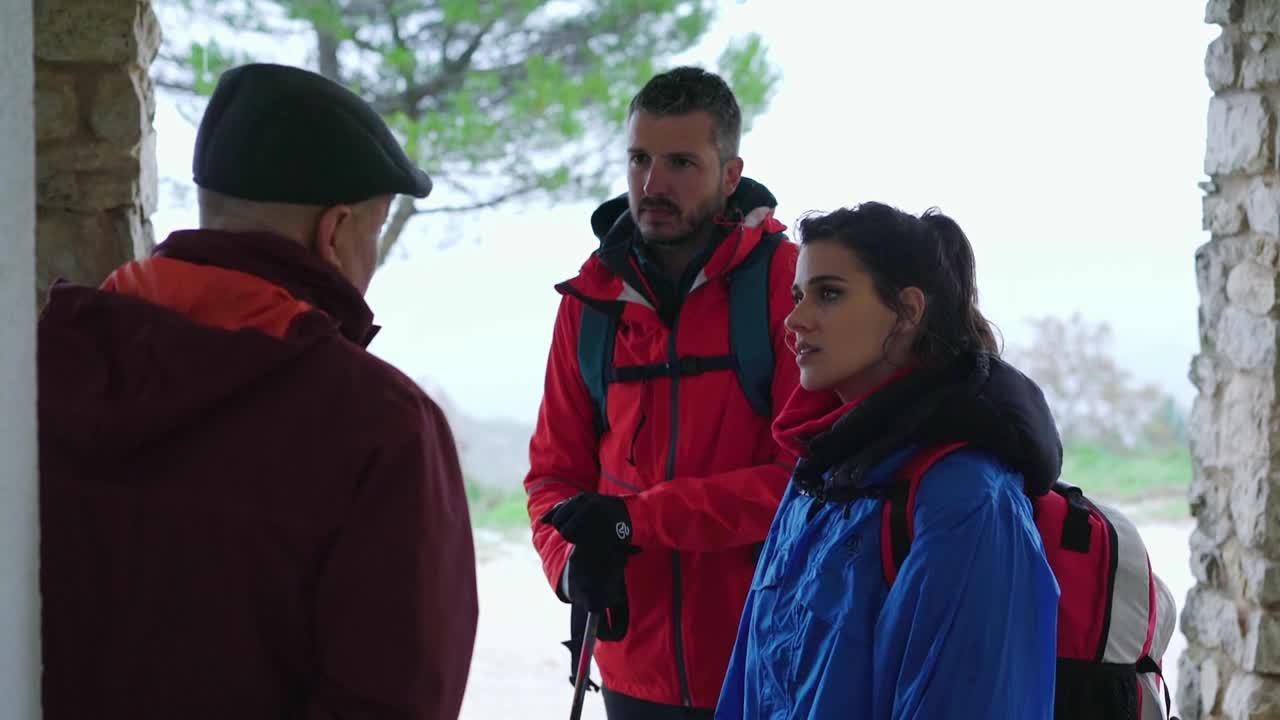 15.10.2019 | Rutes amb Mila Mont, delegada Metges Sense Fronteres, i l'actriu Iris Lezcano