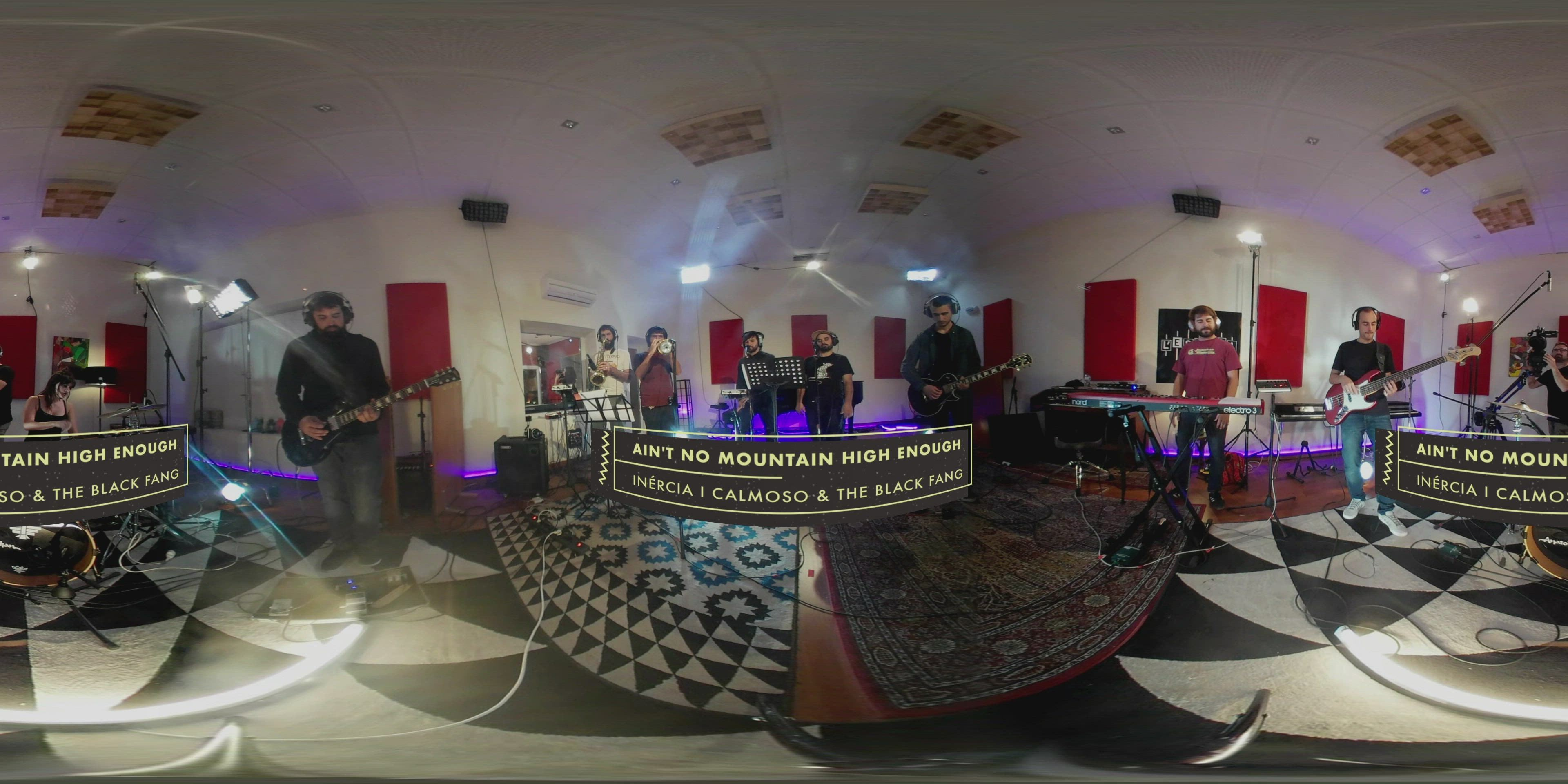 360°   Inèrcia i Calmoso and The BlackFang versionen Marvin Gaye i Tammi Terrell