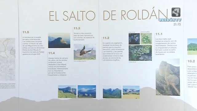 Pico del Águila y Salto del Roldán