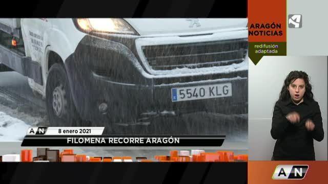 Aragón Noticias 2 Redifusión adaptada - 08/01/2021 20:30