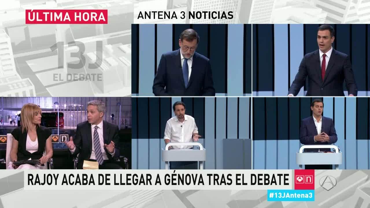 2016 Post - 13J: El debate - Especial Antena 3 Noticias