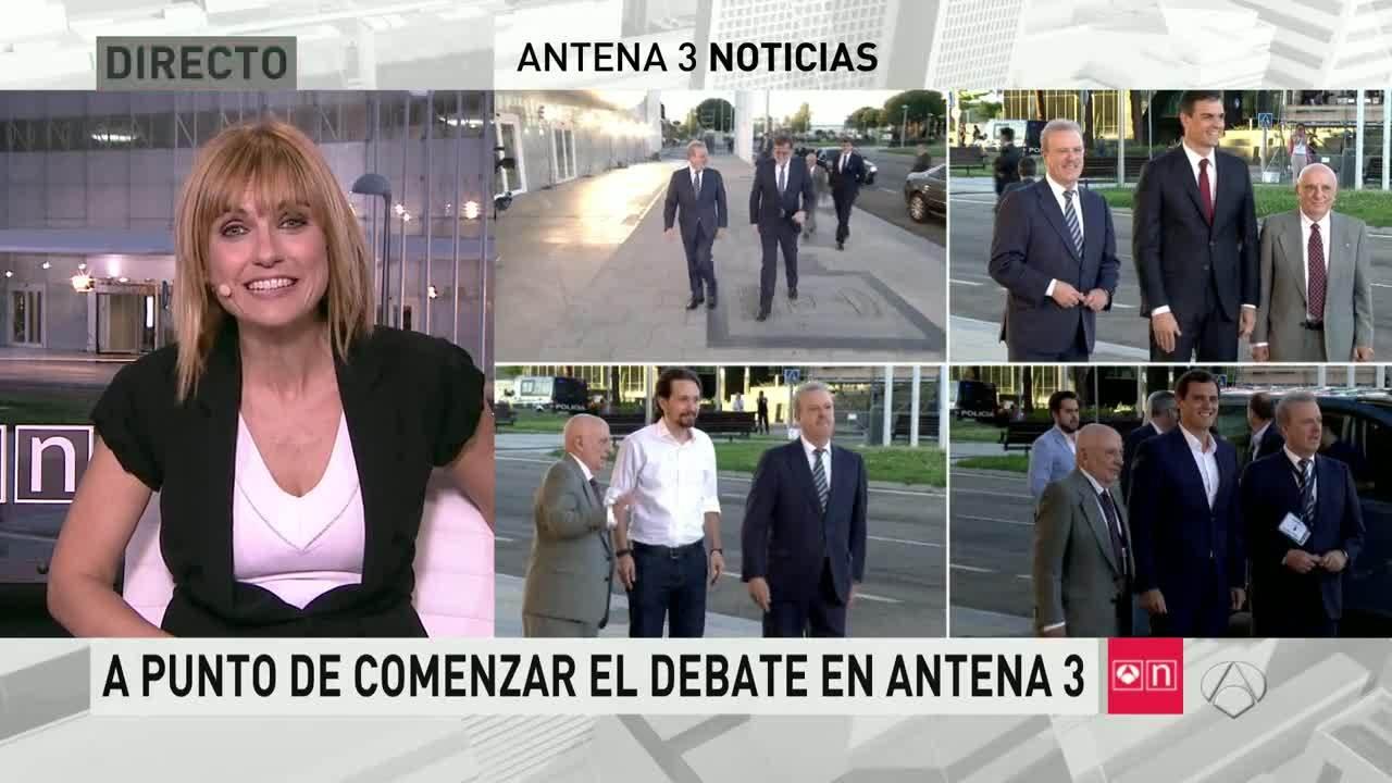 2016 Previa - 13J: El debate - Especial Antena 3 Noticias