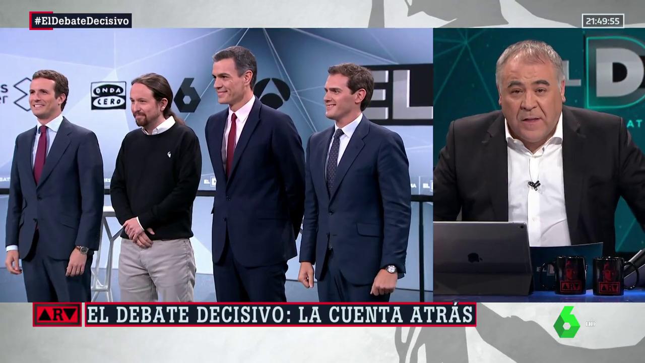 2019 Previo laSexta - El Debate Decisivo - Especial ARV