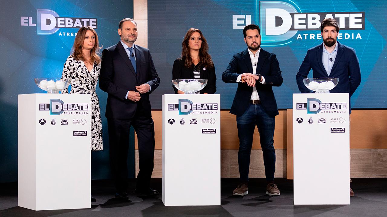 2019 Sorteo de 'El Debate de Atresmedia'