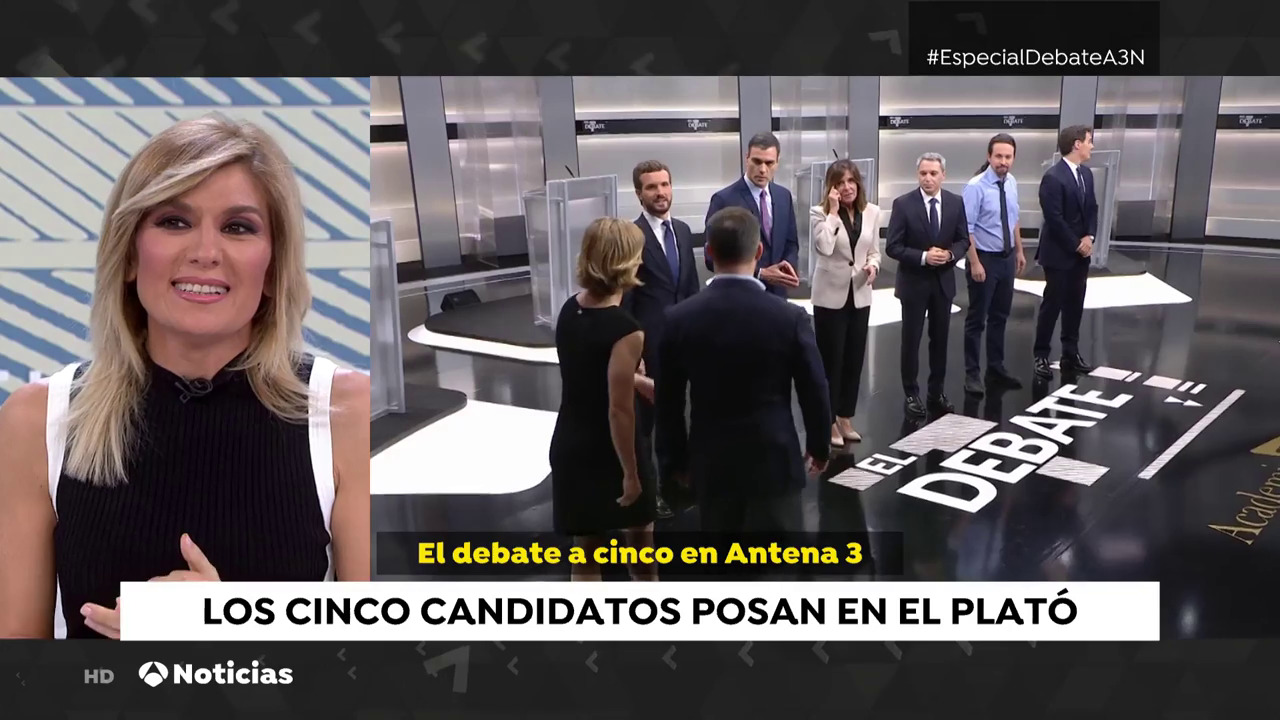 2019 Previo Antena 3 - 4N: El Debate en Atresmedia