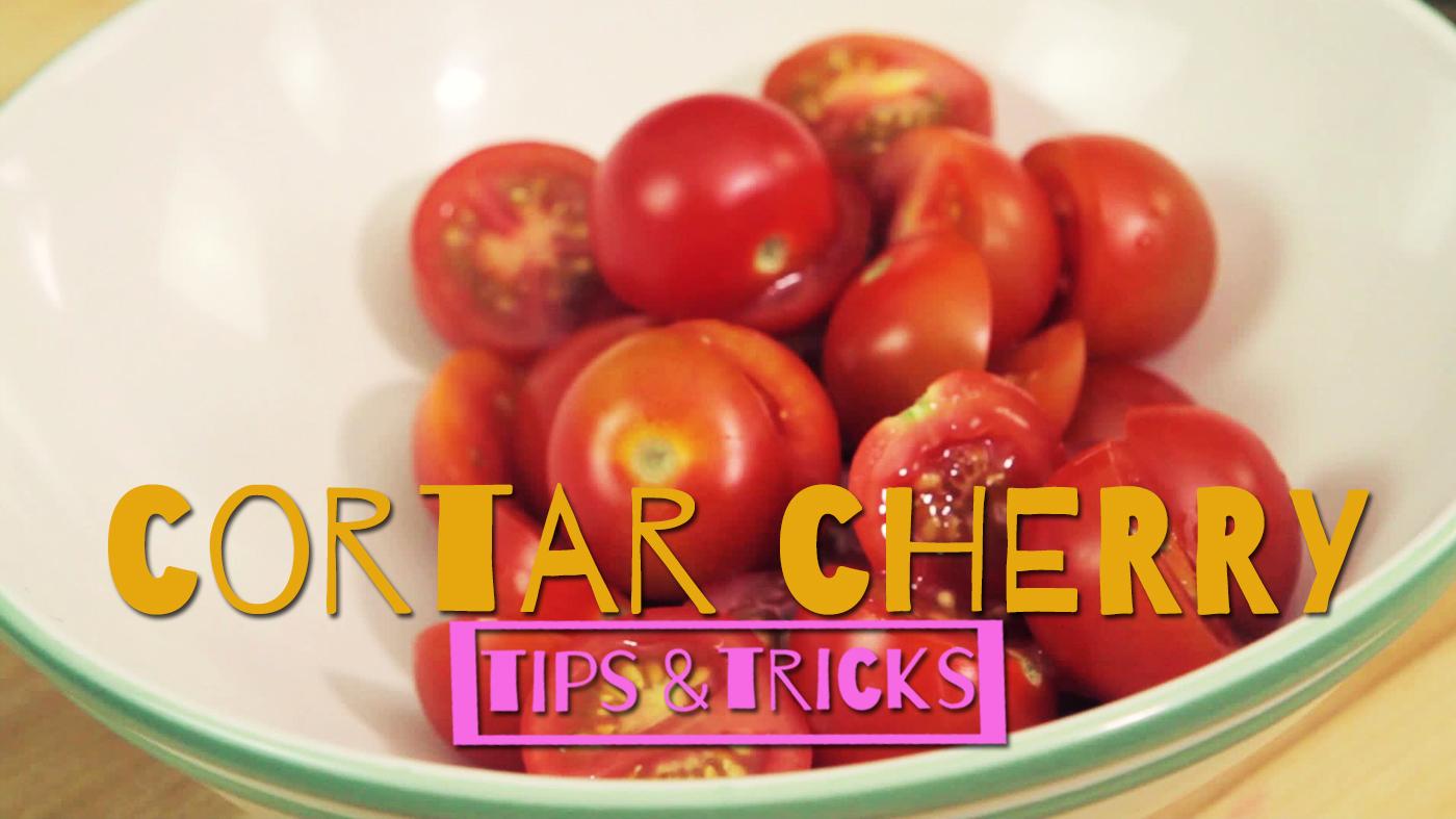 Temporada 1 Cortar tomate cherry