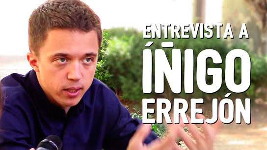 Elecciones WTF Preguntas a políticos: Íñigo Errejón (Unidos Podemos)