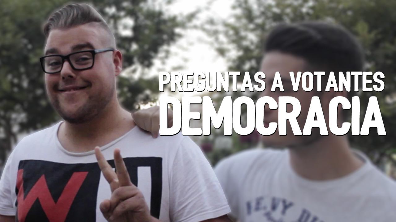 Elecciones WTF Preguntas a votantes: Democracia