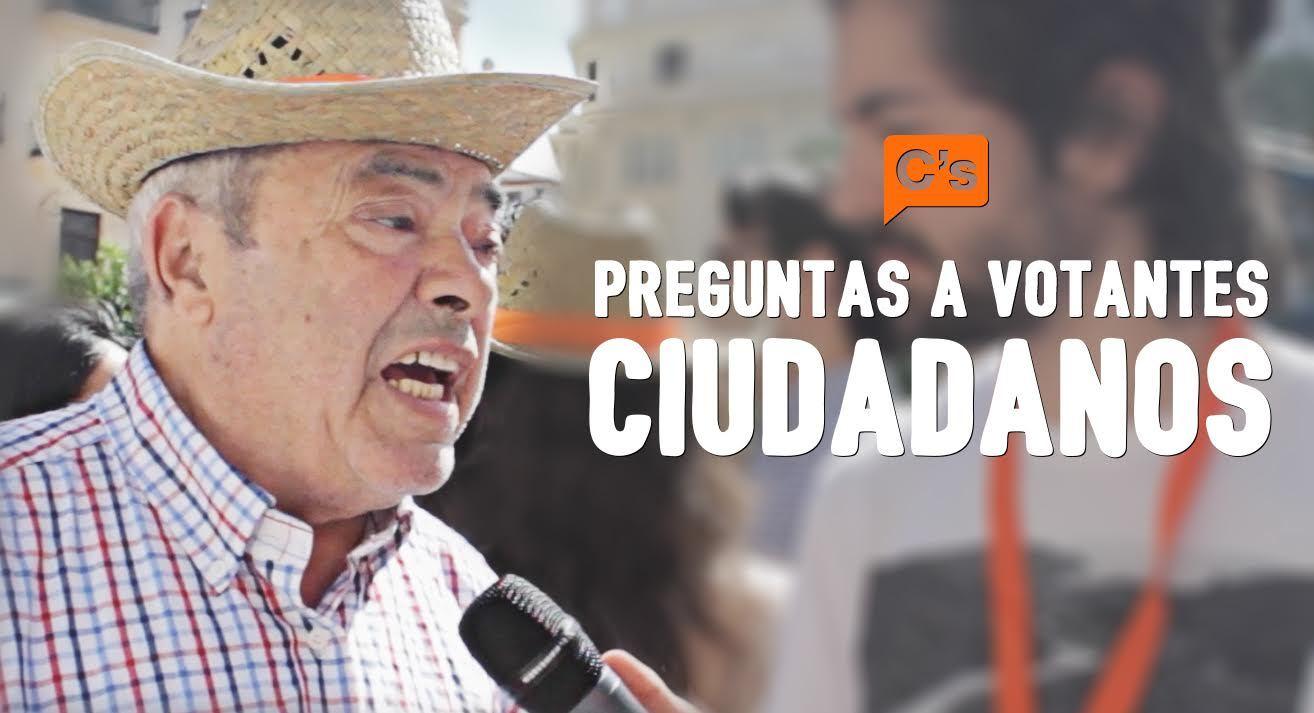 Elecciones WTF Preguntas en mítines: Ciudadanos