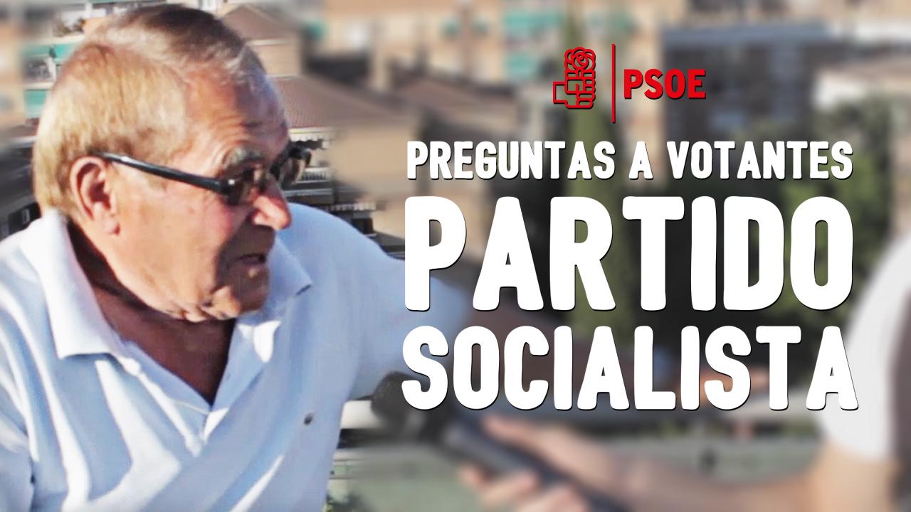 Elecciones WTF Preguntas en mítines: PSOE