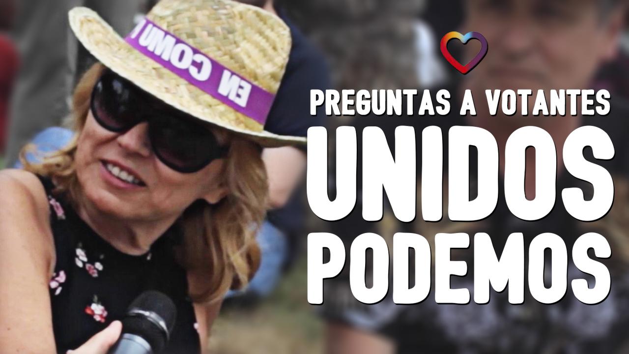 Elecciones WTF Preguntas en mítines: Unidos Podemos