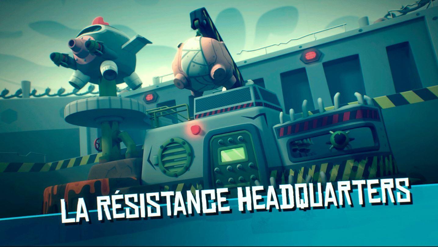 Temporada 1 La Résistance log #006