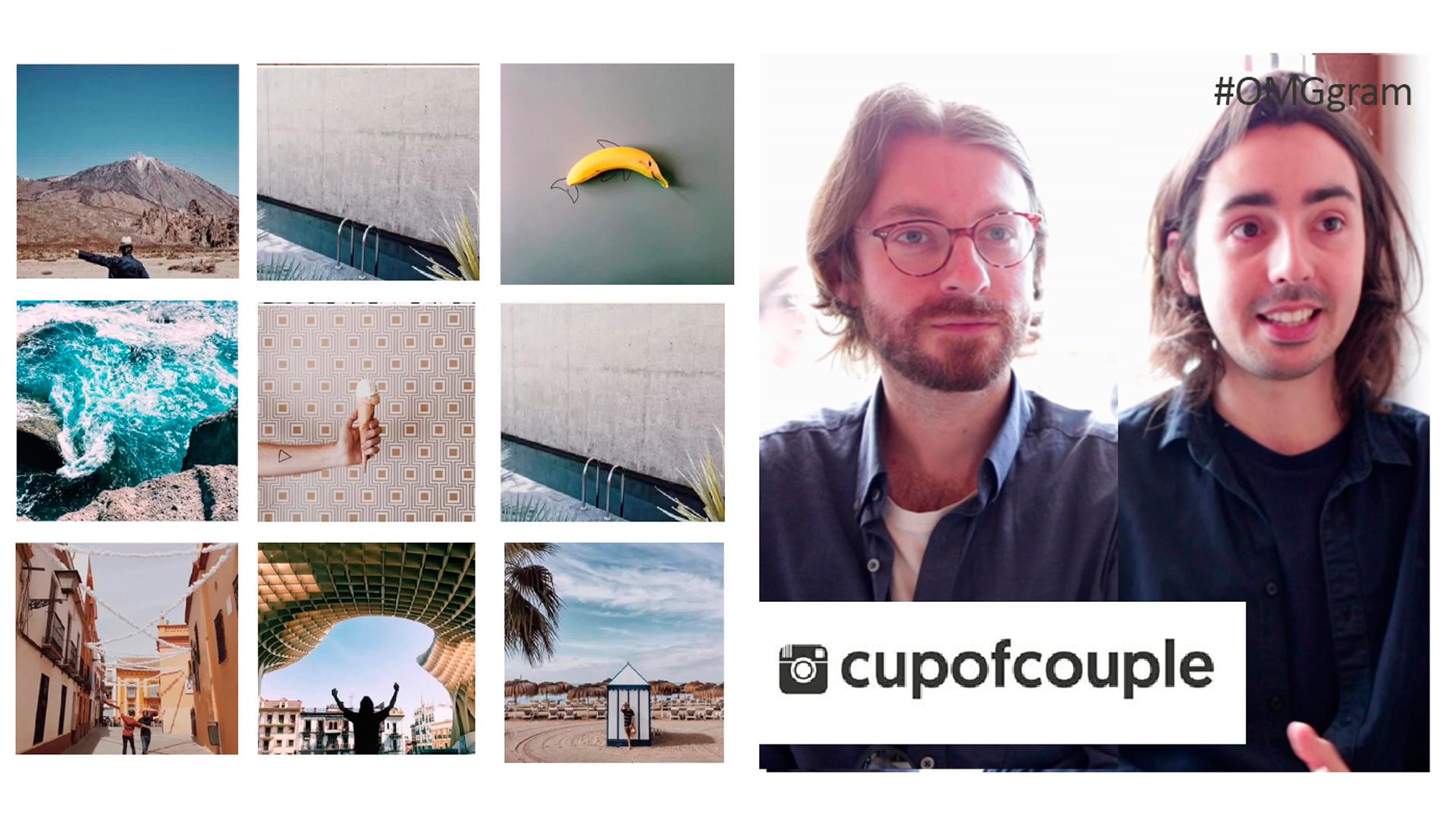 Temporada 1 @cupofcouple, el blog de moda y life style que probó suerte en Instagram