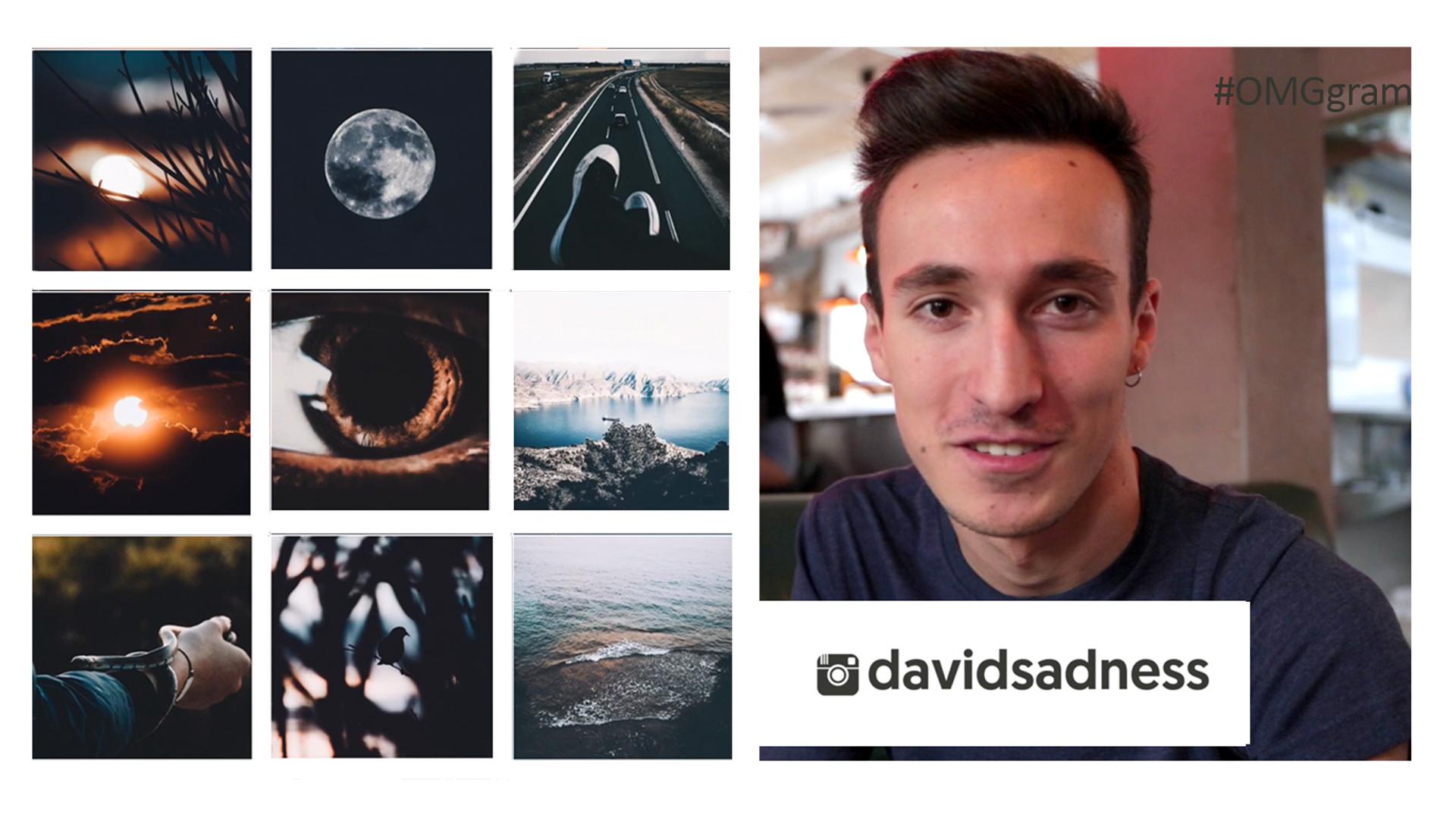 Temporada 1 @davidsadness, sus fotografías te enamoran al instante