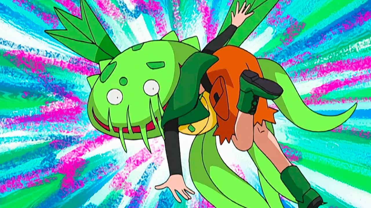 Temporada 10: Diamante y perla T10 - C31: El del tipo planta siempre es más verde