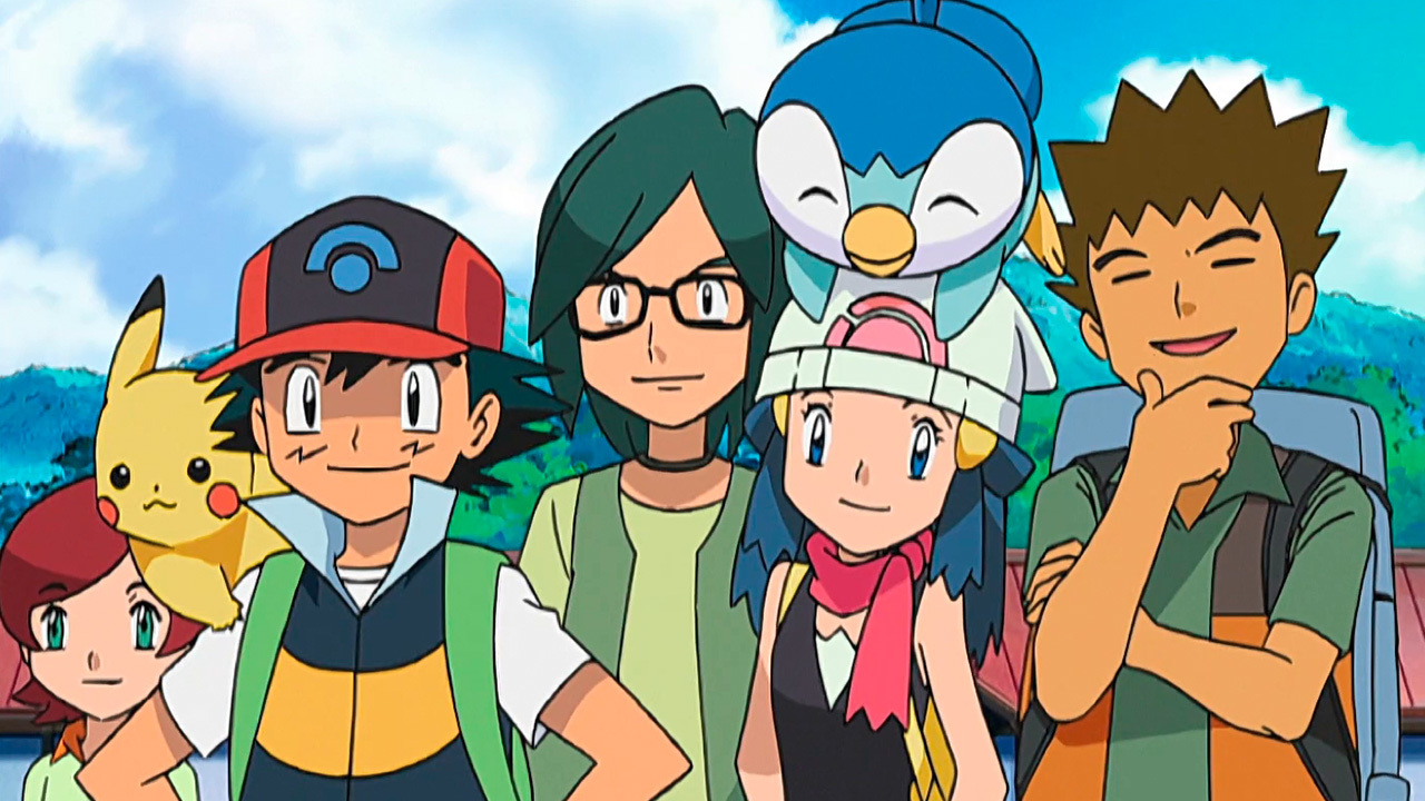 Temporada 11: Dimensión de la batalla DP T11 - C36: Campamento Pokémon