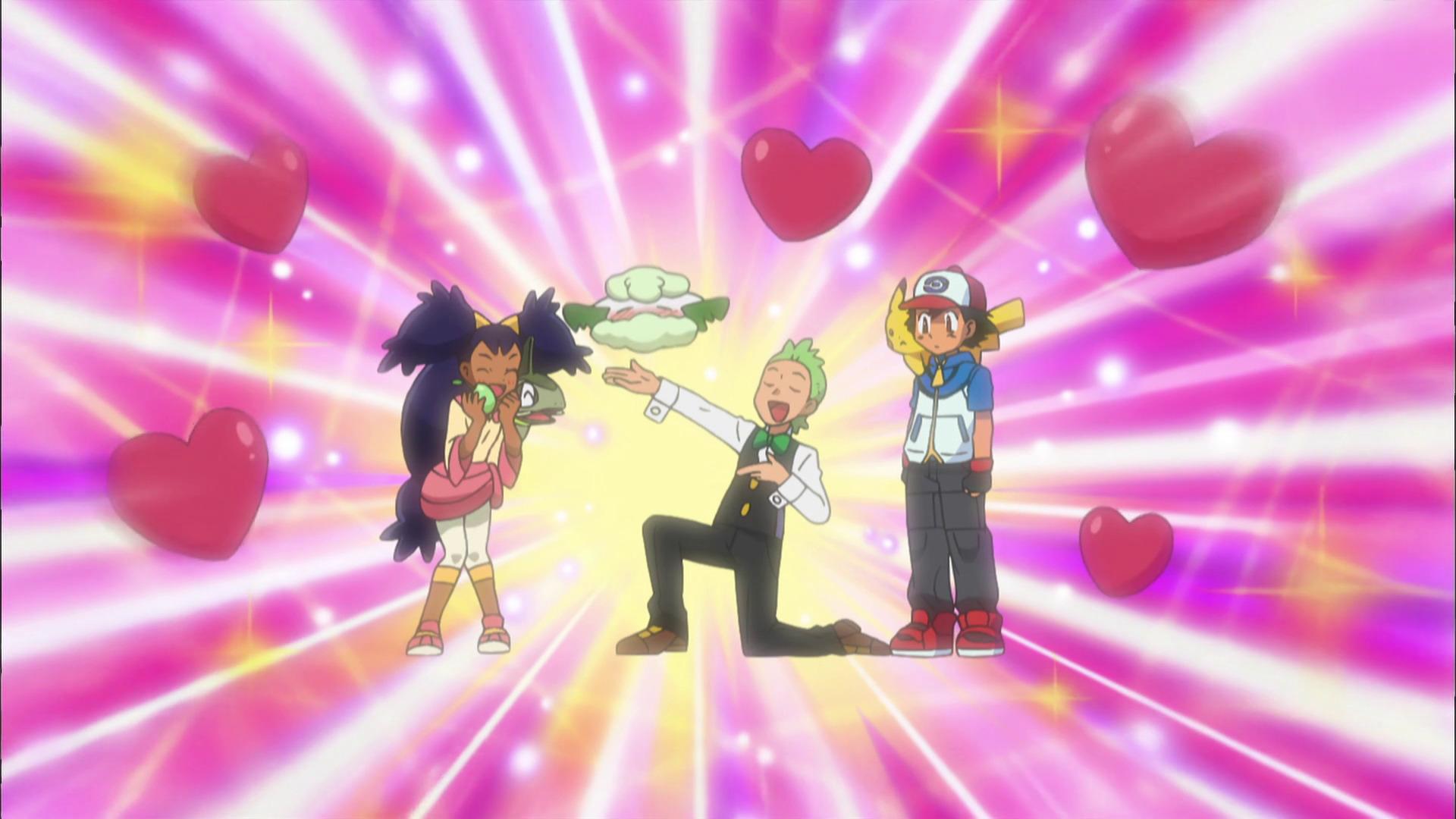 Temporada 14: Negro y blanco T14 - C29: ¡Cottonee enamorado!