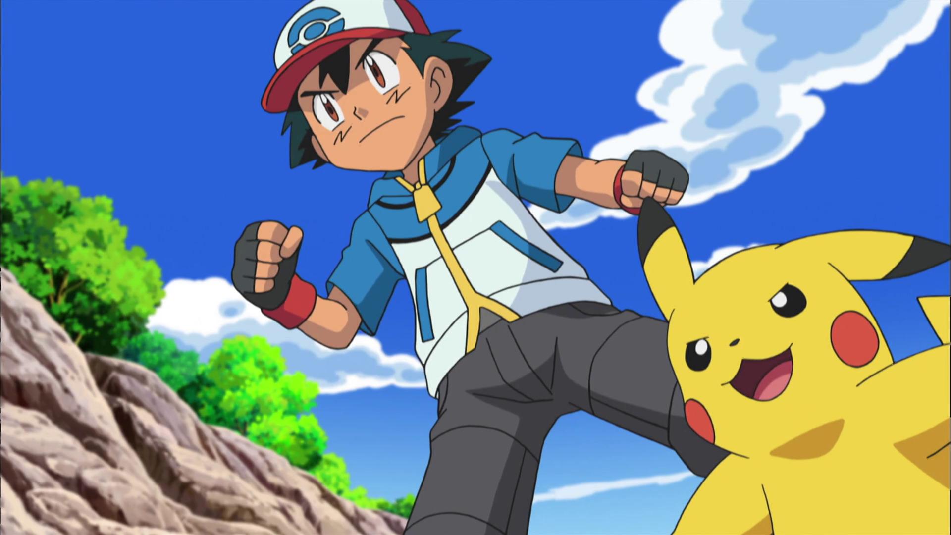 Temporada 14: Negro y blanco T14 - C31: ¡El tercer combate de Ash y Trip!