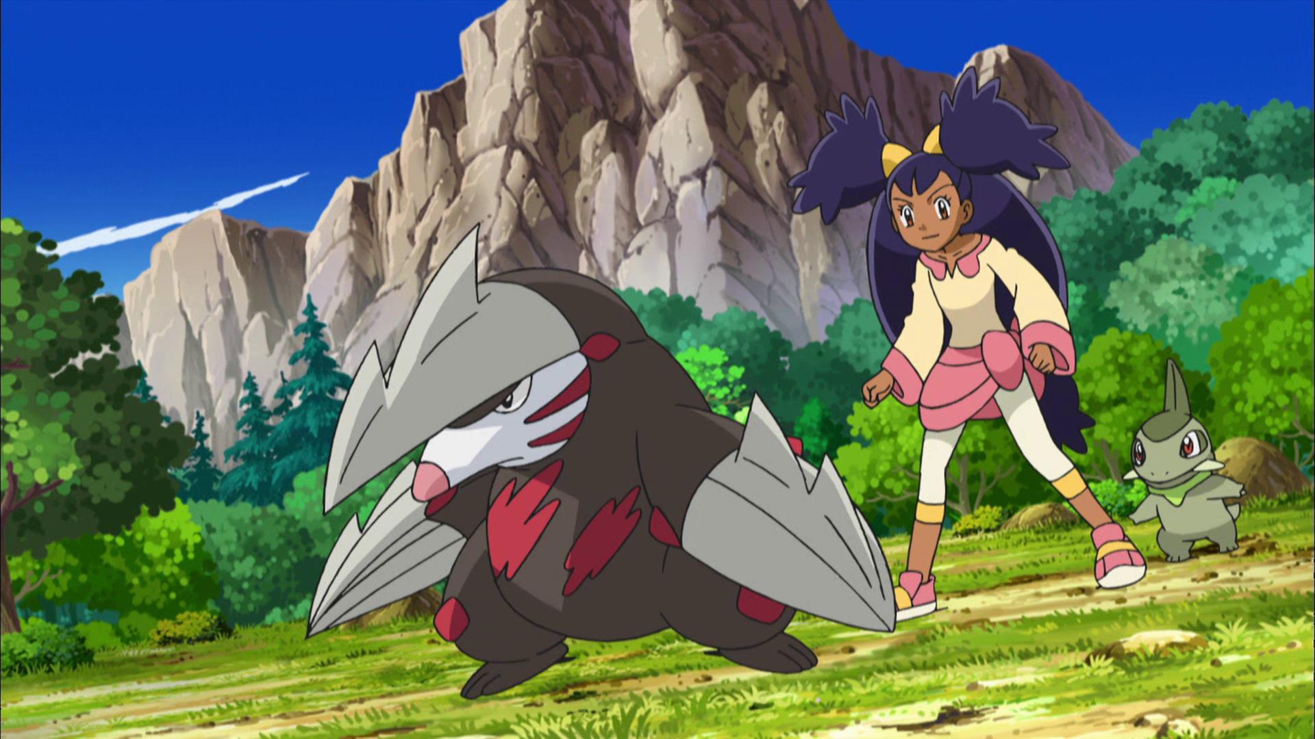 Temporada 14: Negro y blanco T14 - C33: ¡Iris y Excadrill contra la Retadragones!