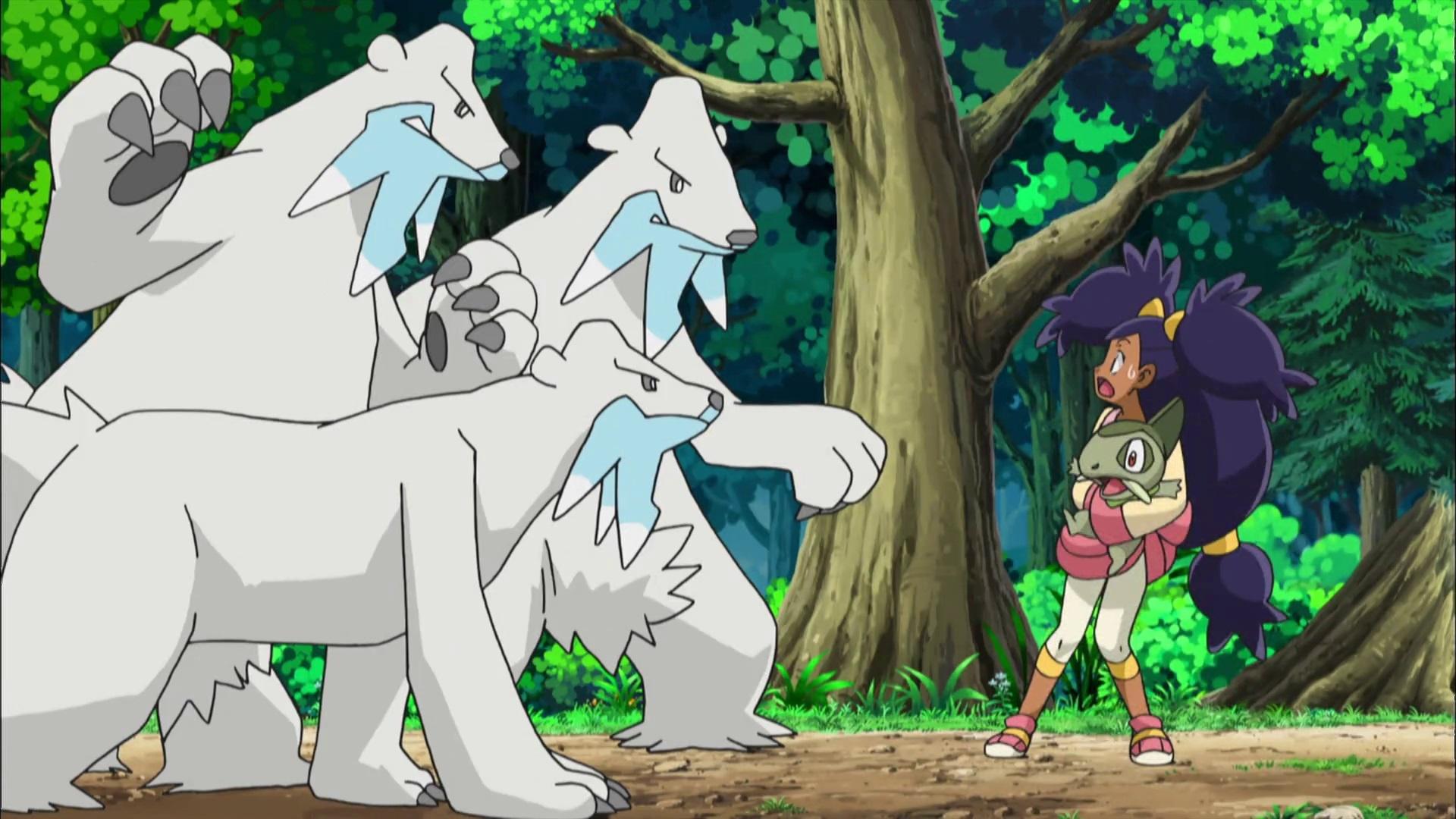 Temporada 14: Negro y blanco T14 - C46: ¡Enemistad entre los Beartic de la montaña!