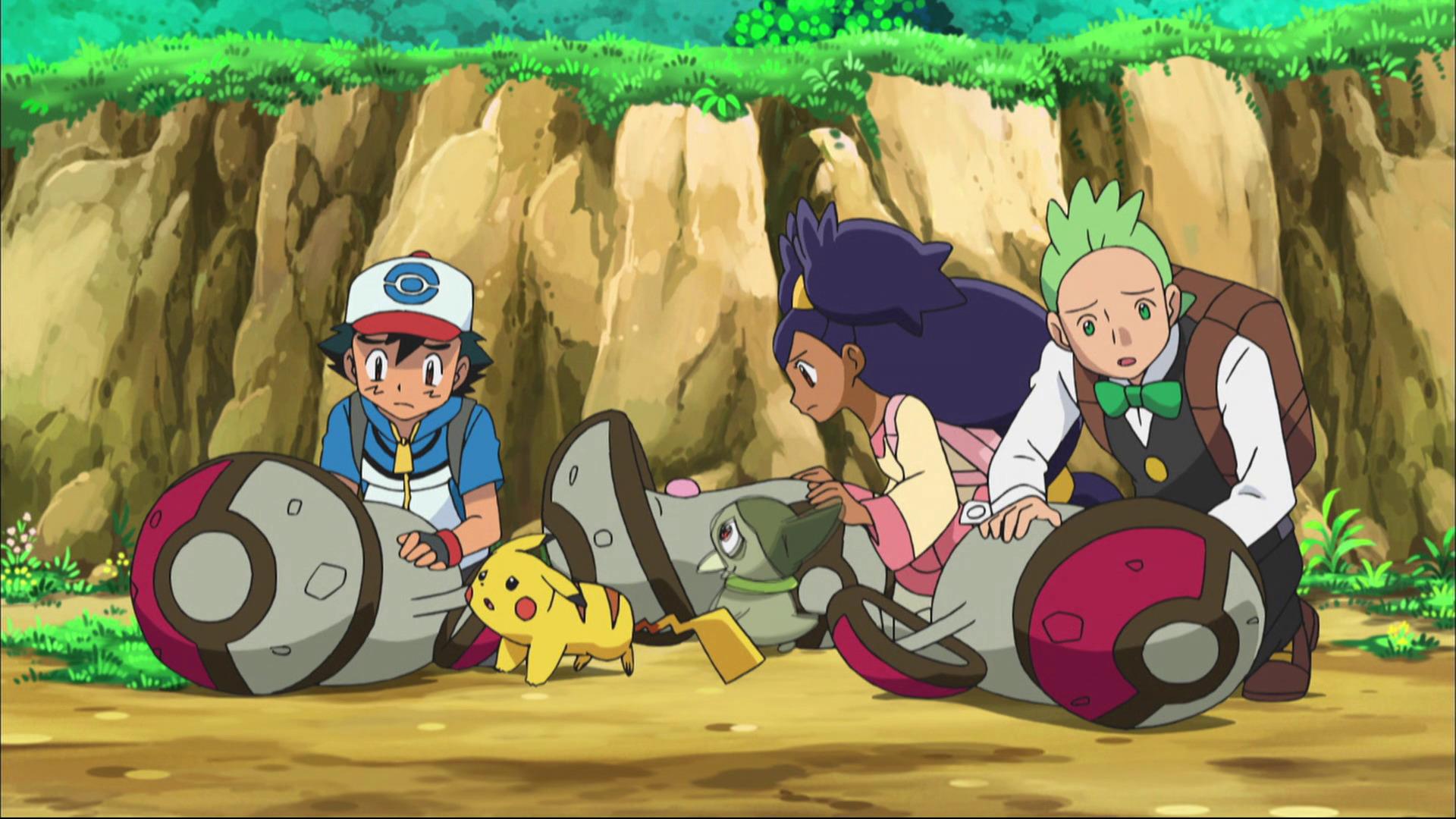 Temporada 16: Negro y blanco - Aventuras en Teselia y más allá T16 - C15: ¡Complot poder Pokémon del Equipo Plasma!
