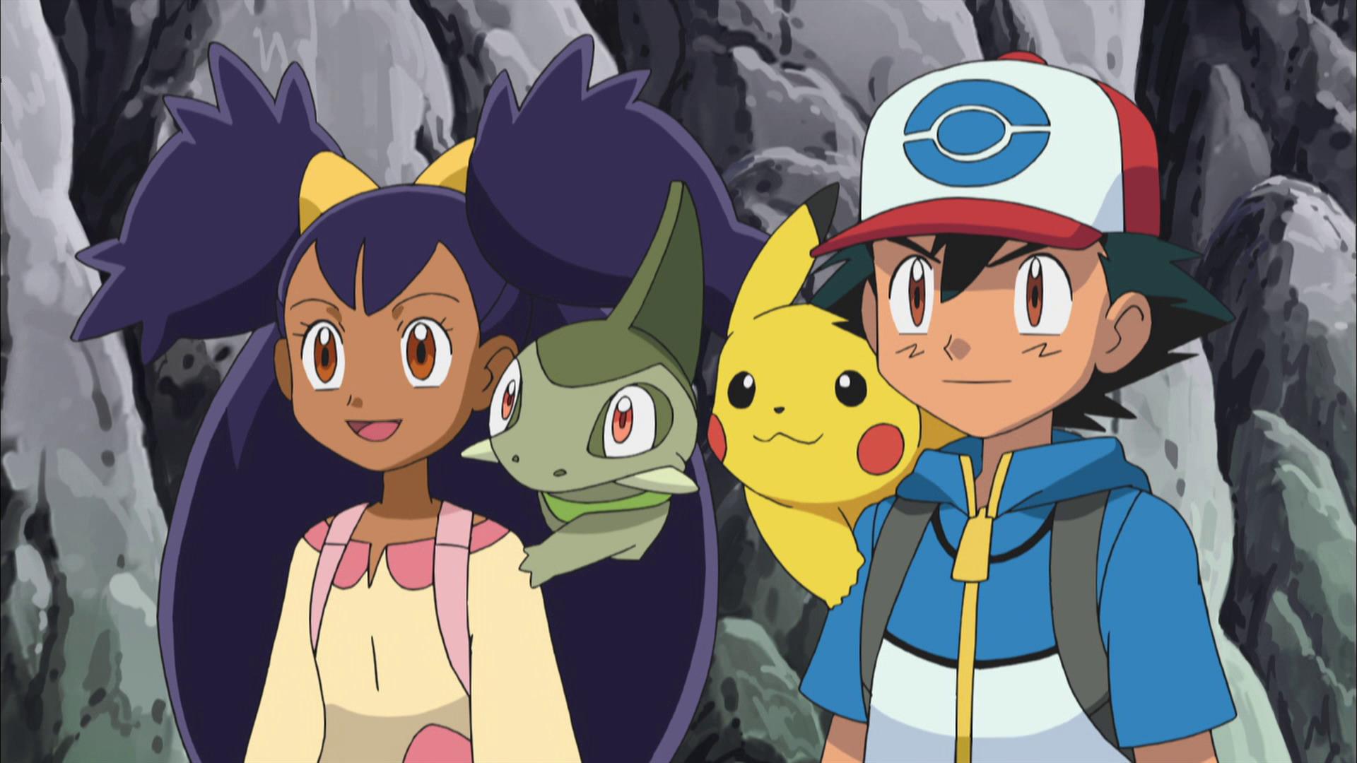 Temporada 16: Negro y blanco - Aventuras en Teselia y más allá T16 - C5: ¡El equipo Eevee y la Brigada de rescate Pokémon!