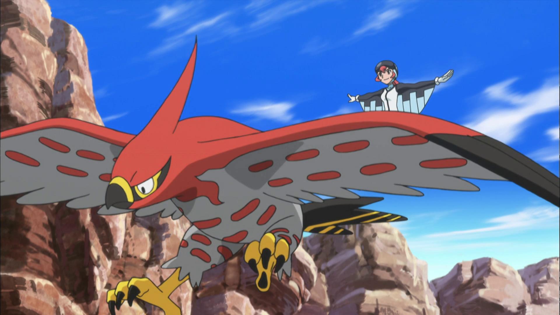 Temporada 17: XY T17 - C35: ¡Combates en el aire!