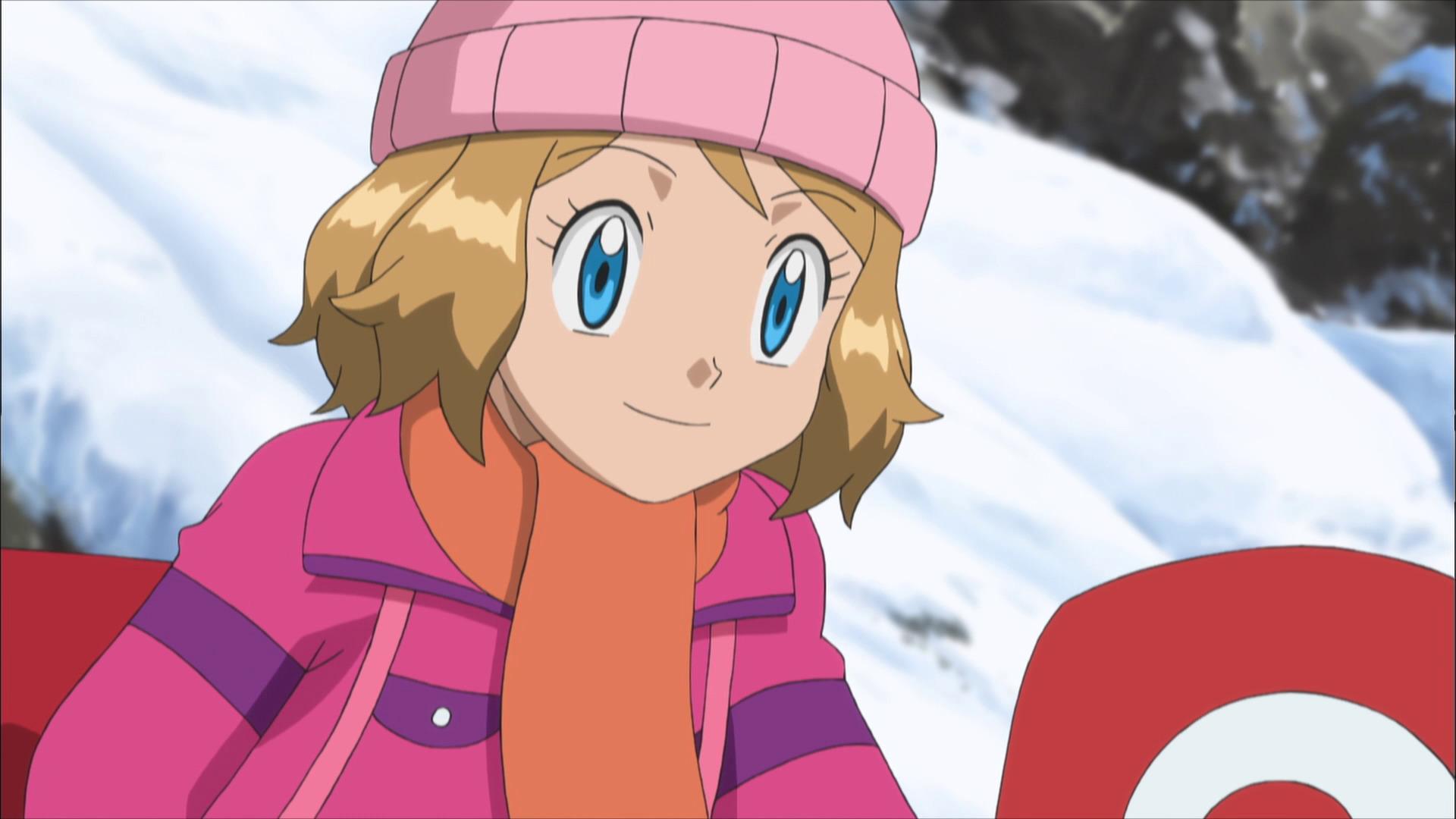 Temporada 18: XY - Expediciones en Kalos T18 - C34: Travesía por la montaña nevada