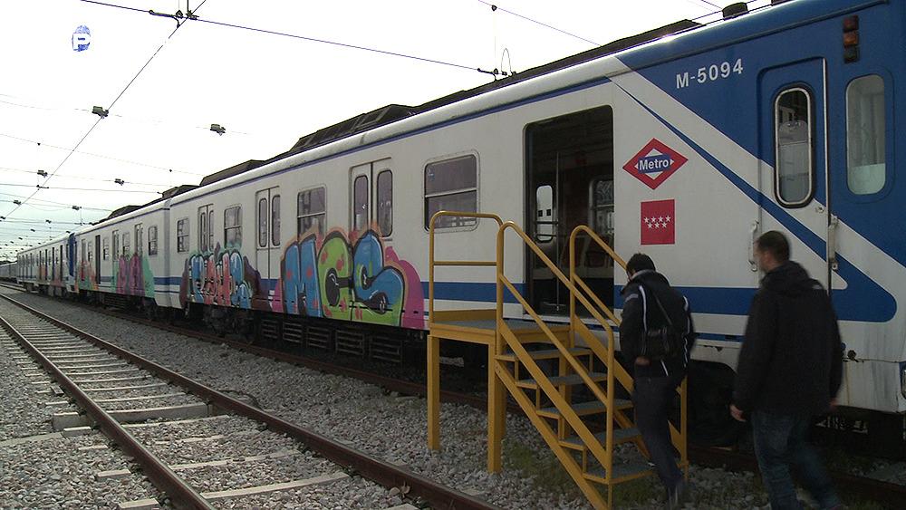Temporada 2 Los grafiteros del metro de Madrid