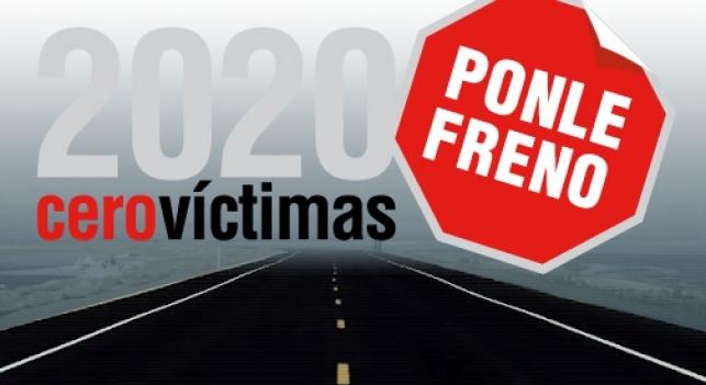 Temporada 1 Jornadas Ponle Freno: '2020 cero víctimas'