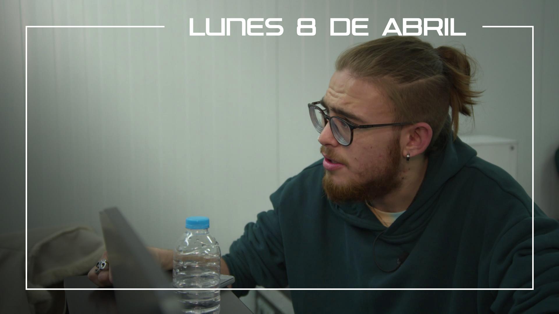 Lunes 8 de abril Andrés Martín ensaya 'When a man loves a woman' para la Final