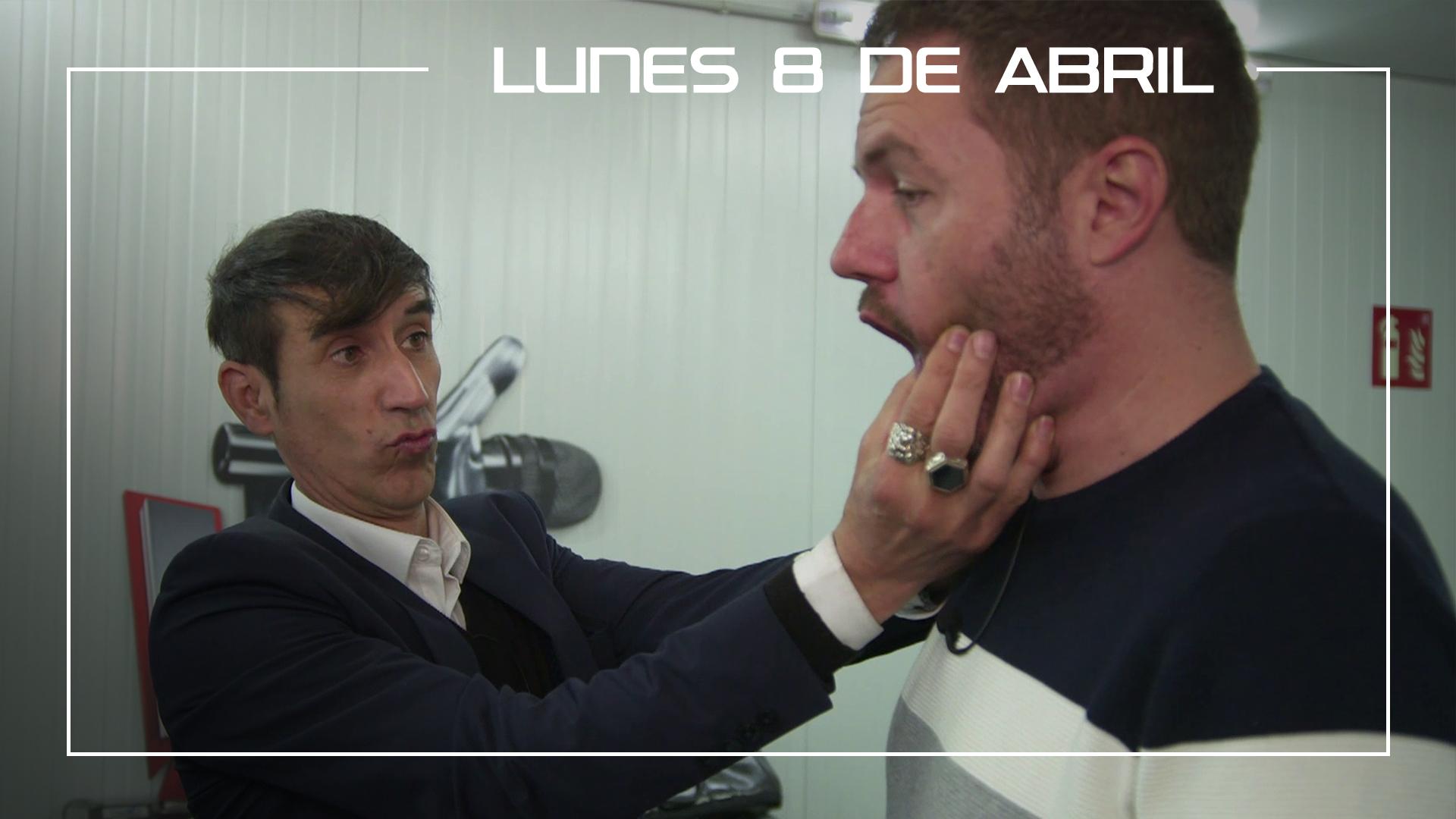 Lunes 8 de abril Ángel Cortés ensaya la canción 'Unchained Melody' con su vocal coach