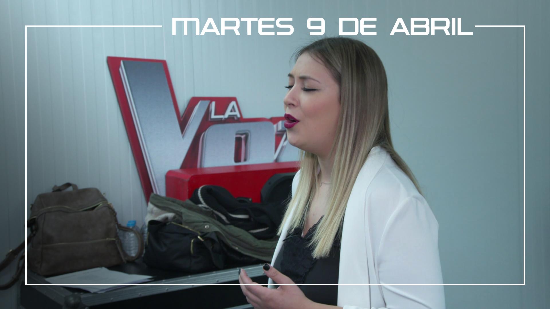 Martes 9 de abril María Espinosa ensaya 'Héroes' de David Bustamante