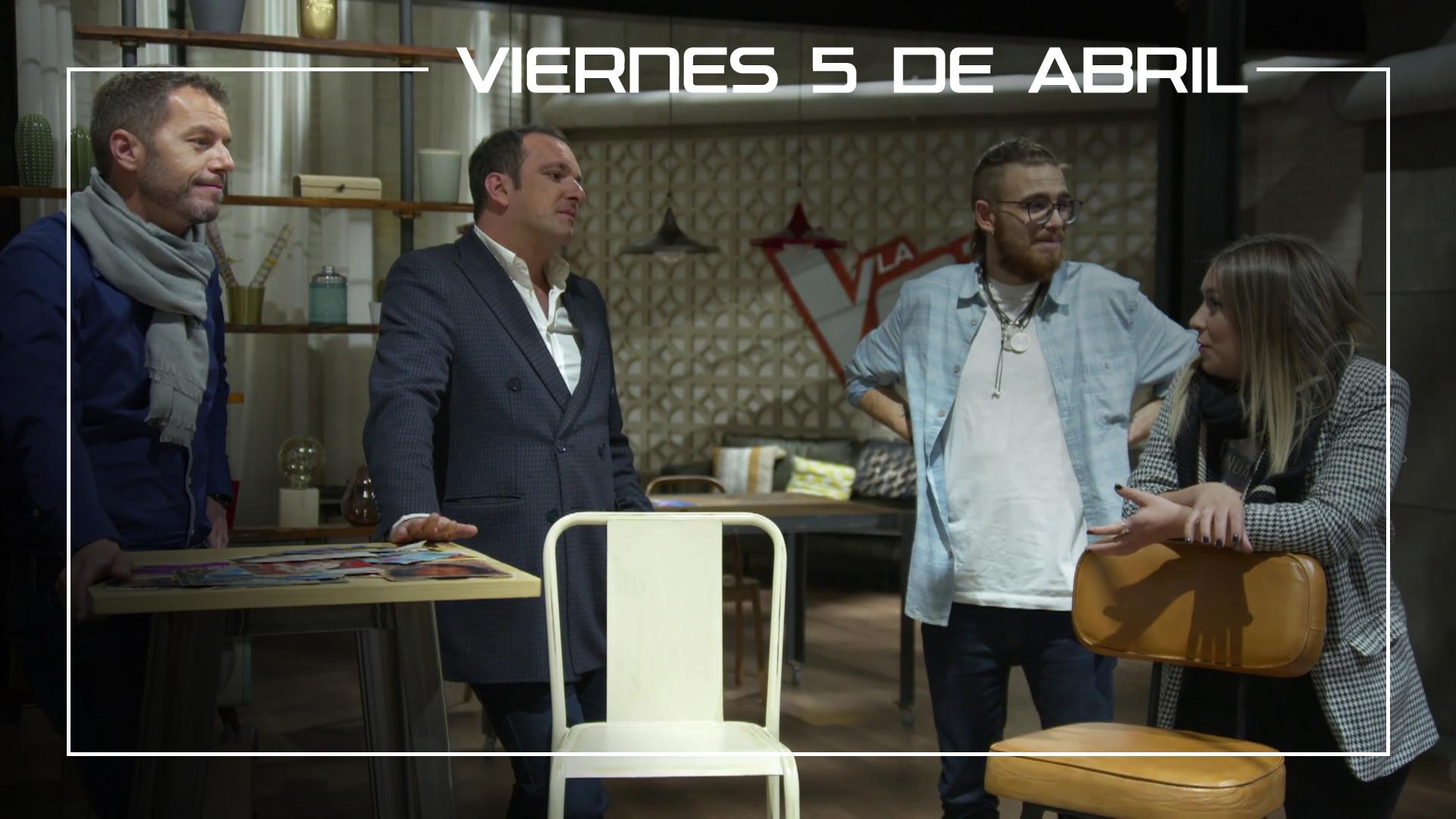 Viernes 5 de abril Los finalistas de 'La Voz' recuerdan su paso por el programa