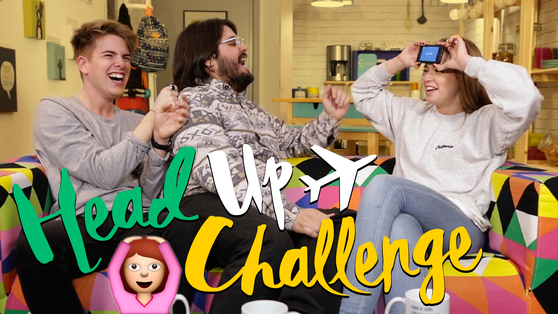 Temporada 1 Head Up Challenge con dos rubias