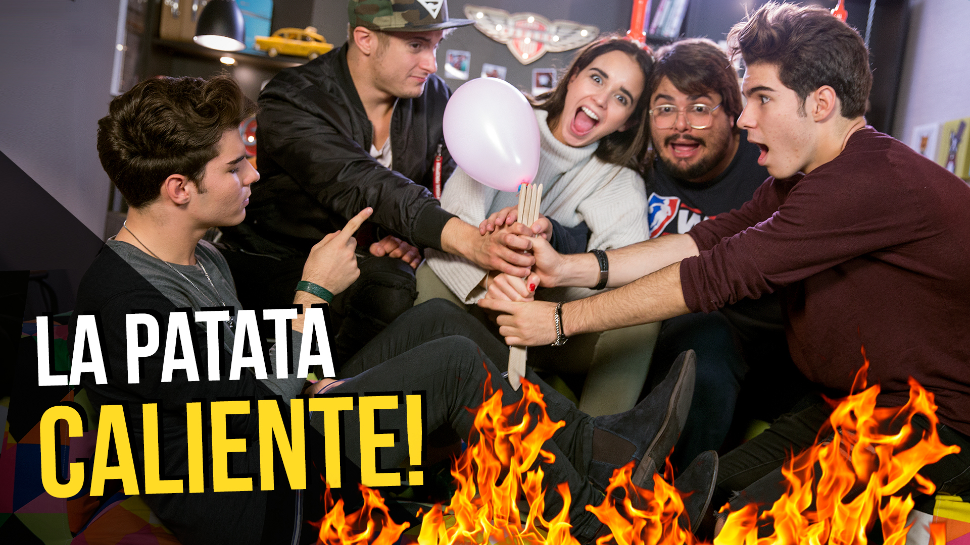 Temporada 1 'Patata Caliente Challenge' con Gemeliers